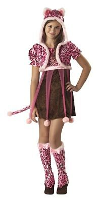 KUTIE KITTEN Girls Tween Costume Cat Outfit Animal Adorable Teen M 10/12 L 12/14 - Cat Costume For Girl