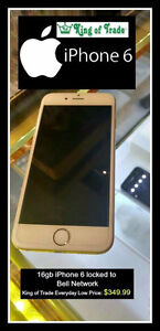 King of Trade - iPhone 6 Cell Phone for Sale! [Bell Network]