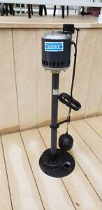 Pompe de puisard ou pompe d'égout - sump pump - Burke