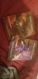 Dungeons & Dragons player handbook, and dungeon Master's guide