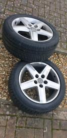 Audi A6 5 Spoke 17 inch Alloy wheels
