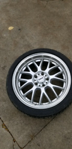 18x8 wheels rims for a Volkswagen