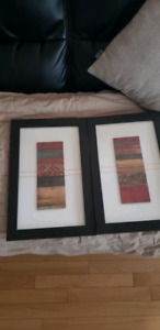 Set of 2 wall art pictures
