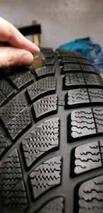 275/35R21 PNEUS HIVER DUNLOP WINTER TIRES(4PCS)