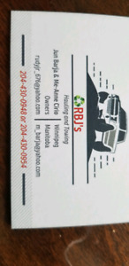RBJ's Hauling and towing and free metal scrap pickup