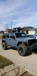 2014 Jeep Wrangler Unlimited Willys 45000kms.