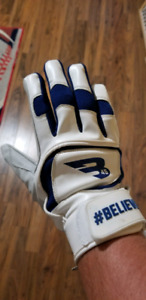 Right handed batting gloves