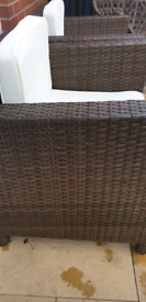 Lovely Brown Rattan Garden Furniture