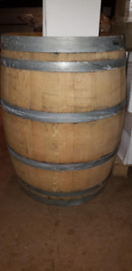 Used Wine Barrels For Sale $125.00 Each