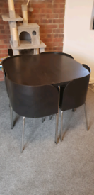 1960s style table and chairs