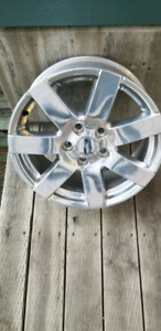 Jeep JK wrangler rims. Set of 4 with TPMS. 18 inch