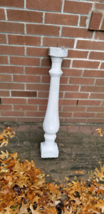 Cement posts for balustrade - small and large