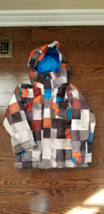 Boys Quiksilver Winter Jacket - Size 4/5