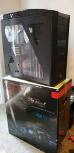 Thermaltake V9 BlacX Edition Gaming Tower