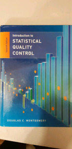 Introduction to statistical quality xontrol