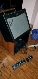100W Fender amp + gigging gear and acessories