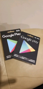 Google Play Gift card trade