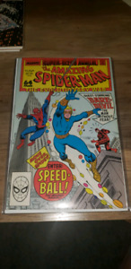 MARVEL COMICS AMAZING SPIDER-MAN ANNUAL #64  1 ST SPEED-BALL