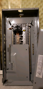 125 AMP electrical panel with 125 AMP breaker