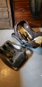 Expired Car seat and base.