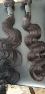 100% HUMAN HAIR weft weave 20inch / Rallonges Cheveux 100% Vierg