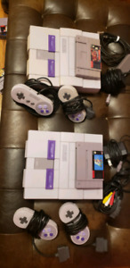 2x SNES priced to sell