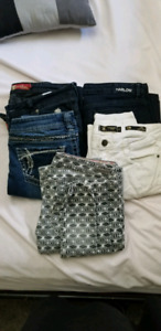 Jeans-Harlow,Silver,Element and more