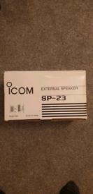 Icom sp23 filtered speaker ham radio