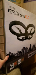 PARROT AR DRONE 2.0 ORANGE/BLUE GREAT CONDITION BARELY USED