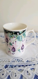 Floral Fine Bone China Mug by Jason, England.
