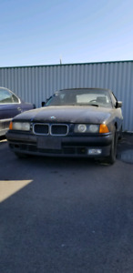 E36 318is Manual Convertible All Black Parts