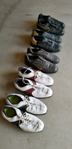 Nike Tiger Woods Golf shoes  5 Pairs - Mens size 13  preowned