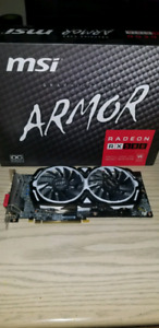 MSI Armor RX580 8GB Graphics Card