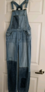 Gap 1969 washed Denim washed overall kids xxl