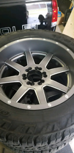 Fuel Mavericks 20x10 6bolt GM/ford
