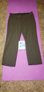 gray XL womans pants