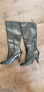 Nine West leather boots