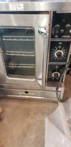 Garland half deck convection oven.