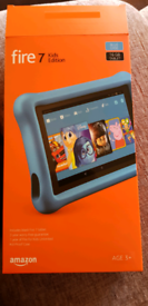 Fire 7 kids tablet with 32Gb SD card