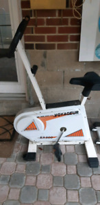 Excercise bike and stepper