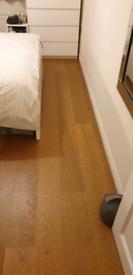 Howdens Fast Fit engineered wood flooring. Chestnut Oak 4 packs.