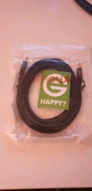 Stereo audio cable brand new