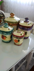Kitchen Canister 4pc.