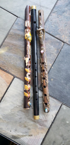 Musical instruments wind  fife tribal wood flute, recorder