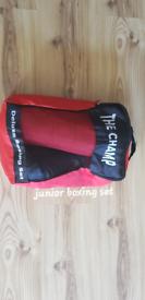 Junior boxing kit.