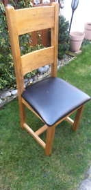 Oak furniture land vancover chairs