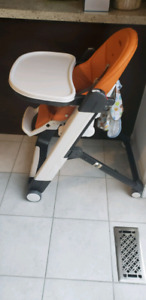 Peg Perego Siesta Highchair, Arancia