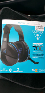 New sealed Turtle Beach stealth 700 ps4