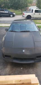 1986 pontiac fiero 2.8L V6