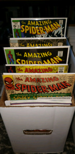 COLLECTION OF SILVER AGE MARVEL COMICS THE AMAZING SPIDER-MAN!!